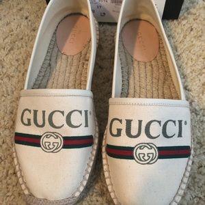 Authentic Gucci espadrille